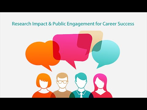#jobsQ Live Video Hangout: 'Research Impact & Public Engagement for Career Success'