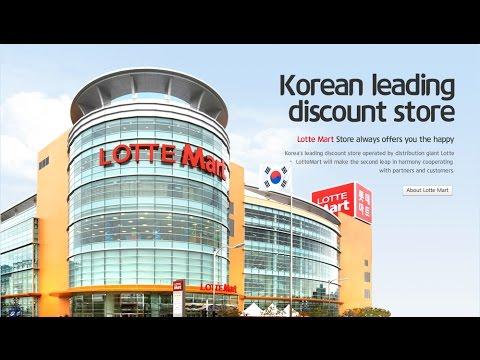 lotte mart korea jam 11 malam masi gak mau pulang.discount besar2 ampe 40 %