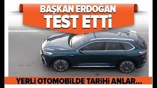 Başkan Erdoğan Yerli Otomobilin İlk Test Sürüşünü Yaptı! / A Haber