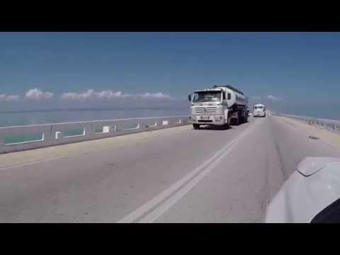 Cayo Santa Maria 48km Causeway - Full Journey inc camera fail!