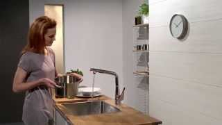 Смеситель для кухни Hansgrohe Metris Select.mp4(Смеситель для кухни Hansgrohe Metris Select., 2015-04-04T10:35:40.000Z)