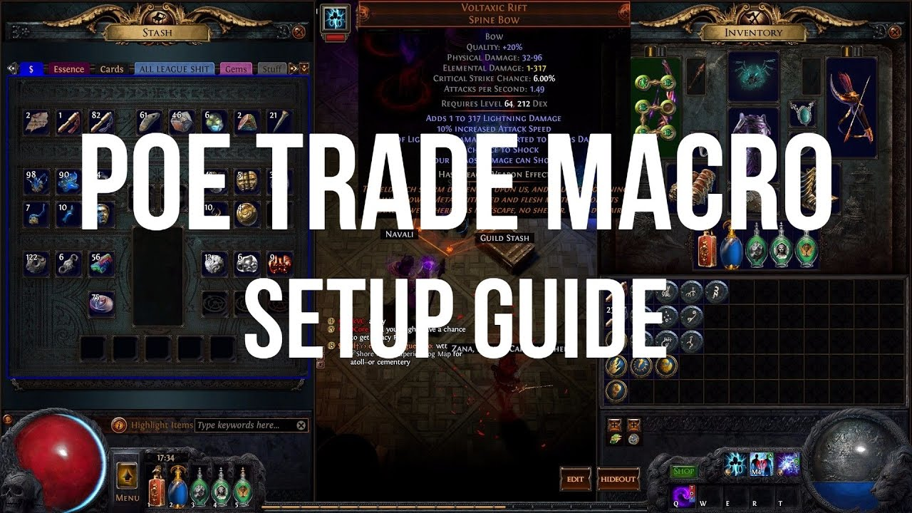 Path of Exile Trade Macro Setup Guide