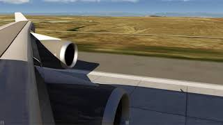 Take Off Denver 747-400 ++ Aerofly FS 2