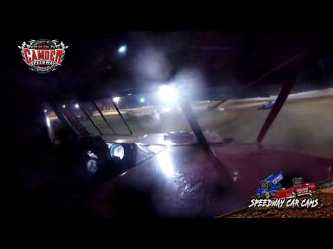 #68 Derek Box - Open Wheel - 7-27-19 Camden Speedway - in-Car Camera