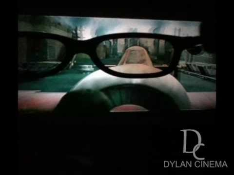 DYLAN CINEMA DIY VIDEO REAL D 3D SET UP TEST 2