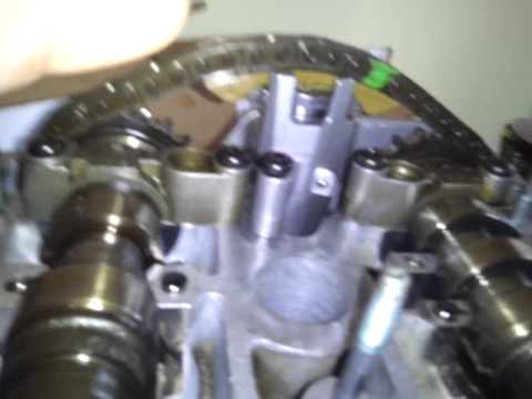 Audi A4 18t cam chain tensioner - AEB engine - YouTube