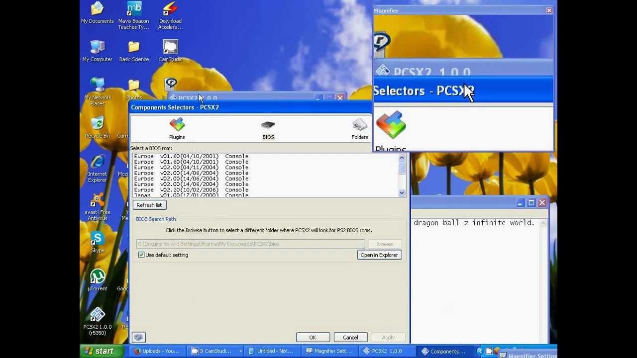 pcsx2 bios free download windows 7