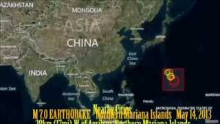 M 6.8 EARTHQUAKE - NORTHERN MARIANA ISLANDS May 14, 2013