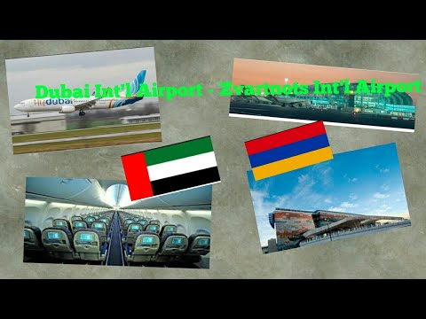 DUBAI to YEREVAN | Armenia Travel Vlog Series Episode 1