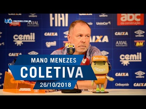 26/10/2018 - Coletiva Mano Menezes