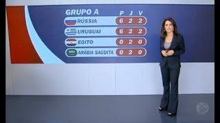 Rússia e Uruguai já estão classificados para as oitavas da Copa