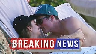 Miles Teller Goes In For A Kiss With Fiancée Keleigh Sperry Poolside On Romantic Hawaii Getaway — Pi