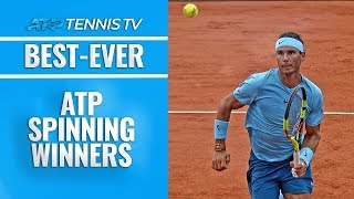 Best-Ever ATP Spin-Around Winners!