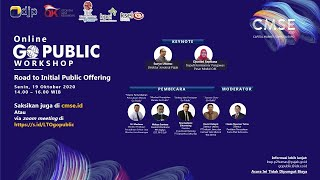 Go Public Workshop Road to Initial Public Offering