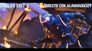 DIRECTO DE FORTNITE - SEASON 4 CON ALVARUSKI29 - Carlos Edit
