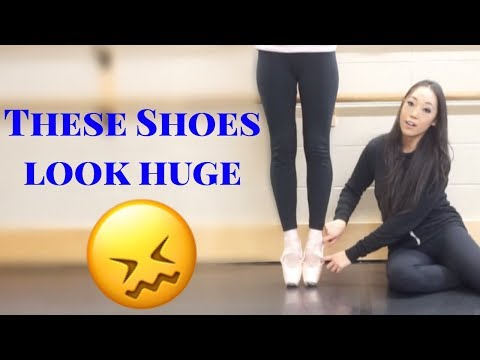 Pointe Shoe Fitting For Baggy Shoes