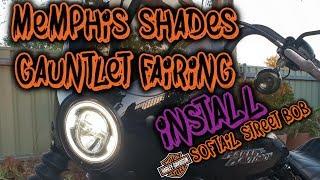 2019 Softail Street Bob - Memphis shades gauntlet fairing