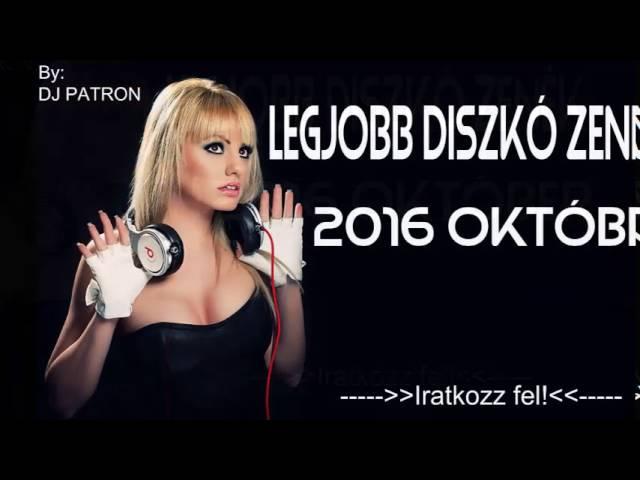Legjobb Diszkó Zenék 2016 októbe