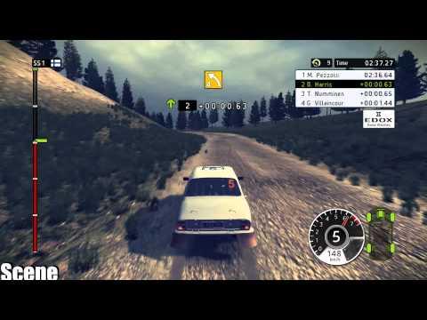 WRC Rally -Peugeot 504-Greece(1080p)