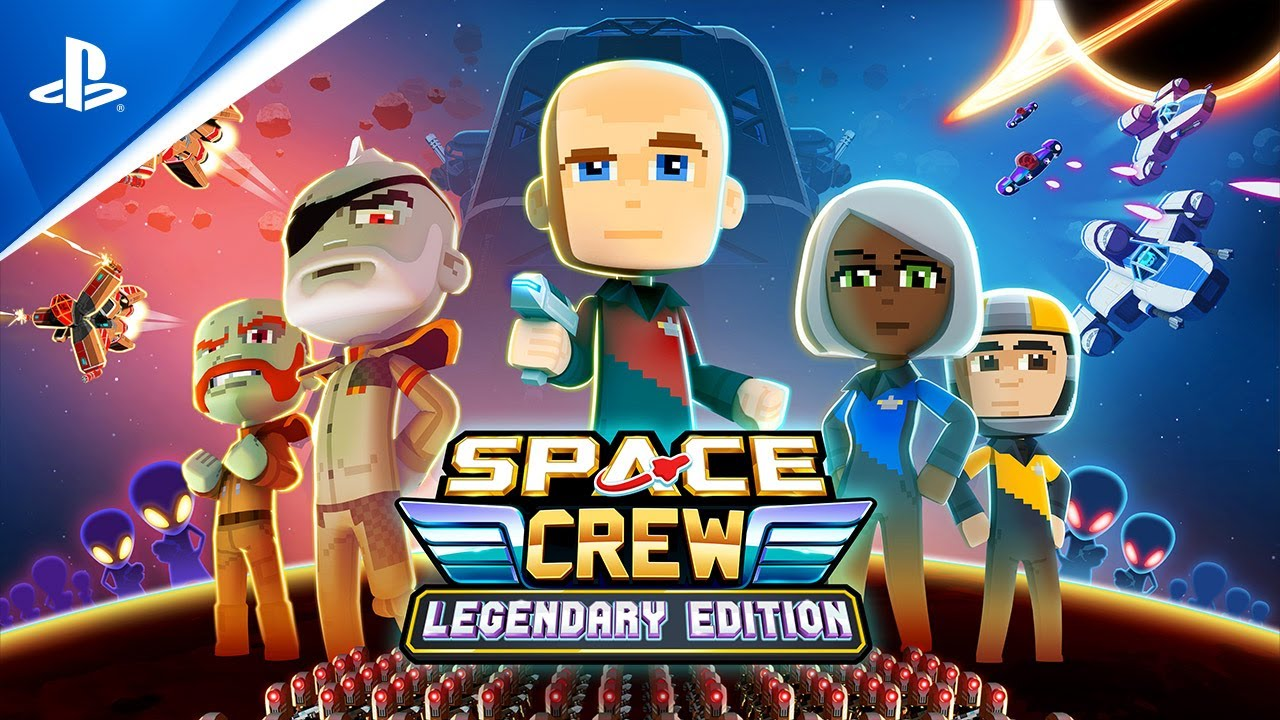 Space Crew: Legendary Edition - Launch Trailer | PS4
