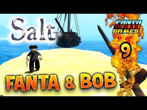 Fanta et Bob dans SALT - Ep.9 : LE BON PECHEUR ! - Let's Play COOP FR