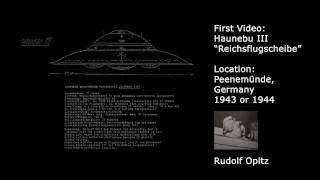 Nazi UFO Haunebu - First Video of a flying Secret Weapon German UFO / Vril
