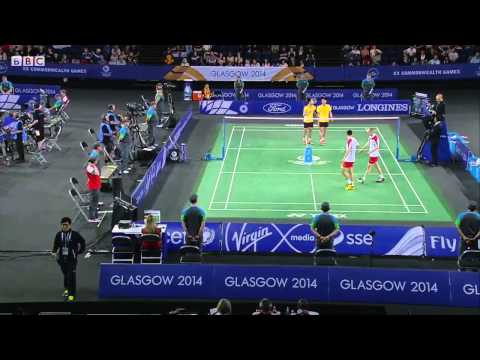 MD SF - ENG vs MAS - 2014 Commonwealth Games badminton