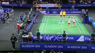 MD SF - ENG vs MAS - 2014 Commonwealth Games badminton