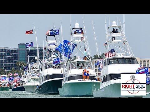 LIVE: Storm the Bay; Trumparilla MAGA Fest Boat Parade in Tampa, FL- 4/17/21
