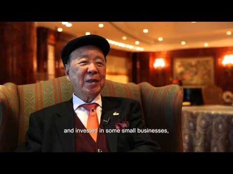 How Billionaire Philanthropist Lui Che Woo Started Out With