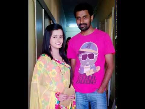 Shivarudra Naik with Mayoori -actress (Ashwini nakshathra) 2