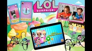 Игры куклы лол для планшета и телефона. Обзор на 2 игры 0+