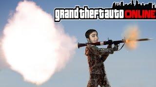 GTA 5 Online - Rocket vs. Araba Bölümleri