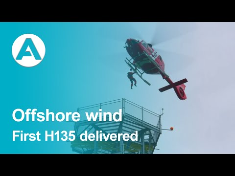First H135 for offshore wind opertations delivered