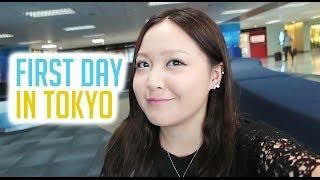 TOKYO, JAPAN TRAVEL VLOG: First day in Tokyo !