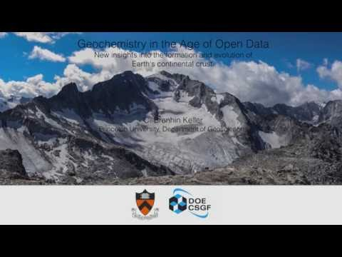 DOE CSGF 2016: Geochemistry in the Age of Open Data: New Insights Into the Formation and Evolutio...