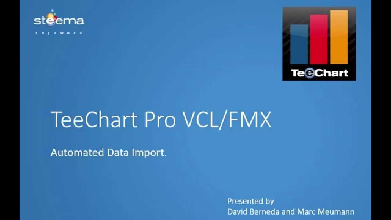 TeeChart Pro VCL / FMX - Automated Data Import