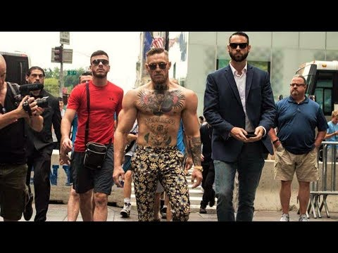 When Conor McGregor Goes Out in Public