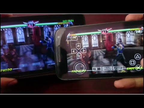 How to play any multiplayer psp games in android (Mortal kombat unchained) 2016 [Tutorial]