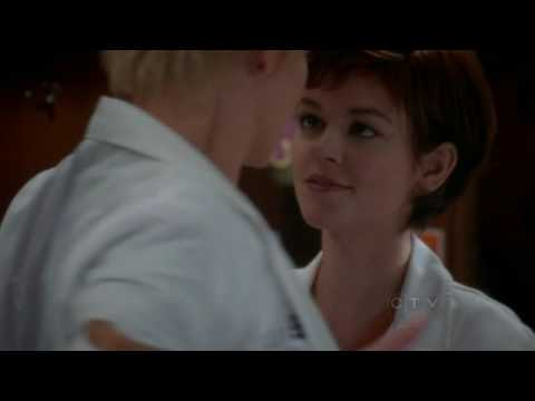 Grey's Anatomy 6x05 Izzie fights for Georges's cubby