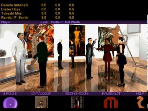 IE 6 PC games review - Millenium Auction (1994)
