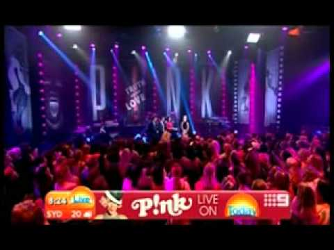 Pink (P!nk) Today Show Australia (October 1st 2012)