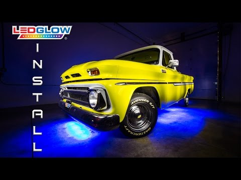 LEDGlow | How To Install LED Lights Under Truck