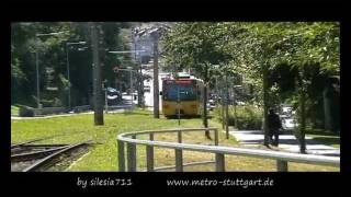 (Stadt-)Bahn TV in Fahrt - U2 Neugereut-Botnang 2011