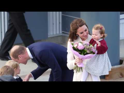 TRH The Cambridges Bid Farewell to Canada at the Victoria Harbour Airport