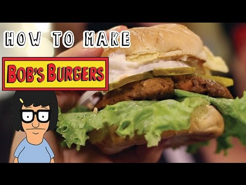 Bob's Burgers Halloween Special | Hummus a Tune Burger | Collab with Hellthy Junkfood | The Edgy Veg
