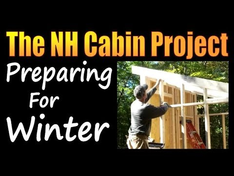 NH CABIN PROJECT  Off Grid Homestead Restoration  Part 9