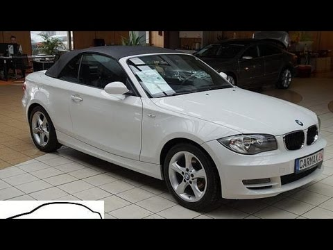 bmw 118 cabrio 118i pdc leder alu comfort paket youtube. Black Bedroom Furniture Sets. Home Design Ideas