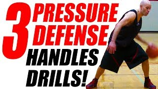 How To Beat Tight PRESSURE Defense: Dribbling & Ball Handling Drills