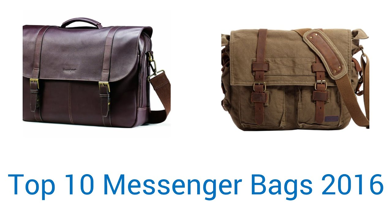 10 Best Messenger Bags 2016 - YouTube